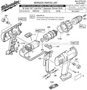 milwaukee drill wiring diagram drill free printable wiring diagrams