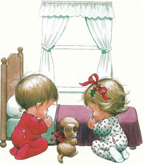 christmas prayer clipart