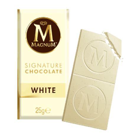 Magnum Milk Chocolate Bar 25g white magnum