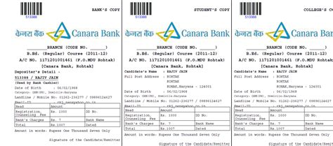 authorization letter to deposit in canara bank sbi banking application form free
