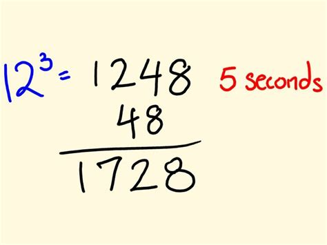 1 Simple Trick To Create - cool math trick work out cubic numbers fast