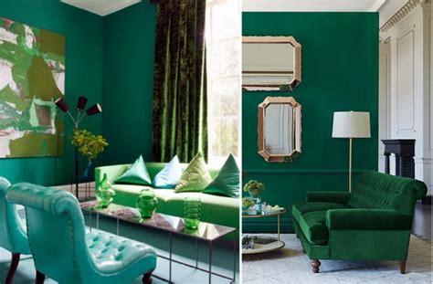 decorar sala verde decorando con verde esmeralda color pantone casa y color