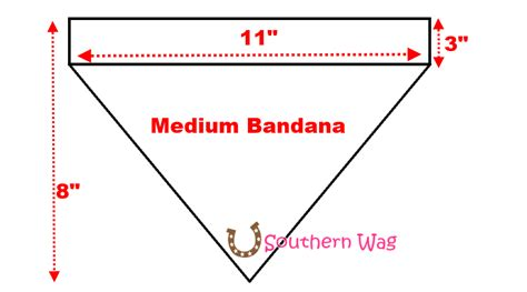 bandana template southern wag pet accessories november 2013