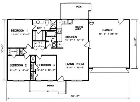 1200 Square Foot Cabin Plans by 1200 Square Foot House Plans With 3 Bedrooms 1200 Square