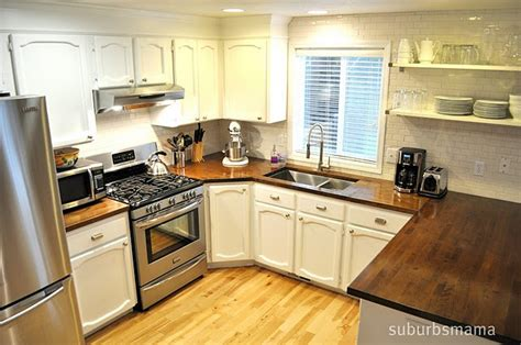 kitchen with beech countertops studio all day