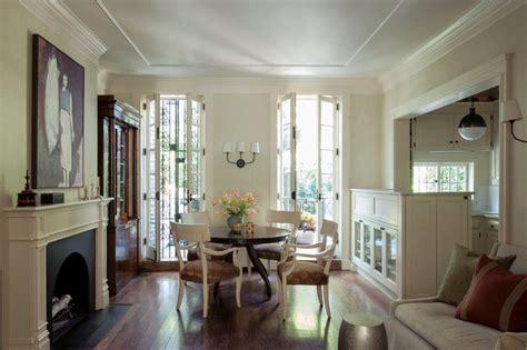 french doors dining room manhattan duplex traditional dining room new york