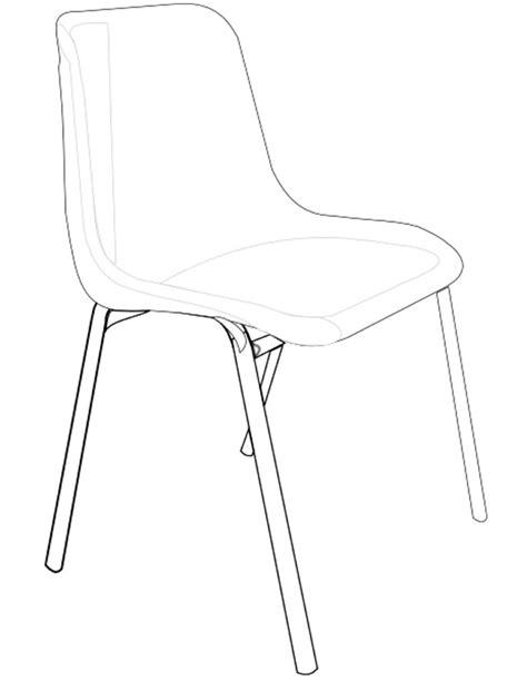 dessin de chaise coloriage chaise 224 imprimer gratuitement