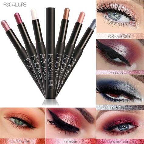 Focallure Eye Shadow focallure waterproof eyeshadow pencil pen makeup eye