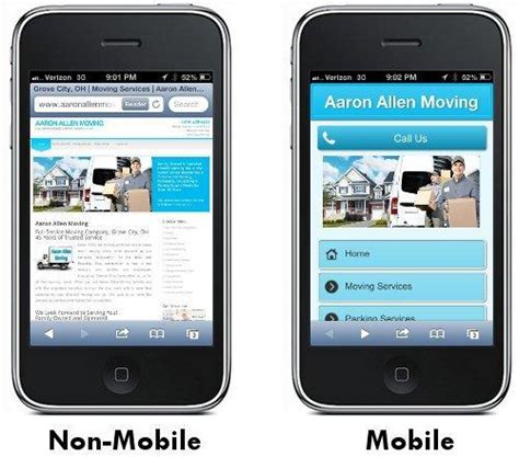 non mobile mobile seo 6 steps to a mobile friendly website