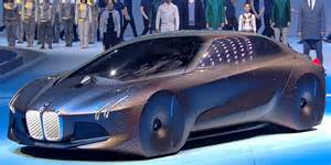 Futuristic Bmw Bmw Vision Next 100 Concept Car Business Insider