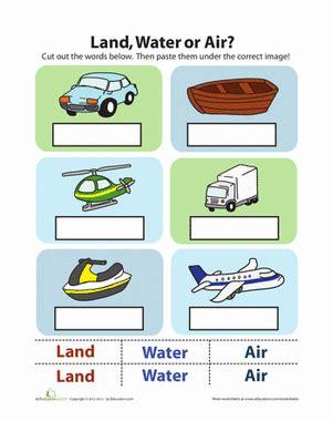types of pattern for kindergarten transportation worksheets worksheets releaseboard free