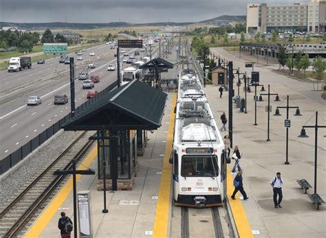 light rail stations denver work begins on rtd s southeast light rail line extension