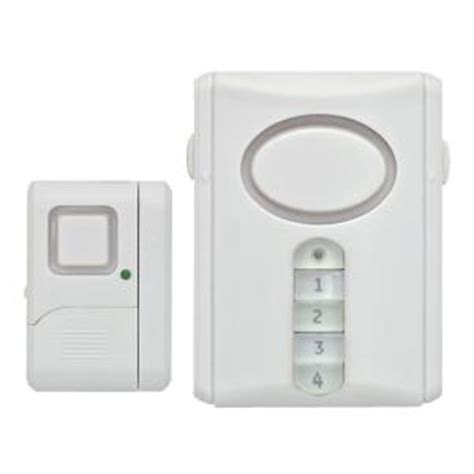 ge personal security alarm kit 51107 the home depot