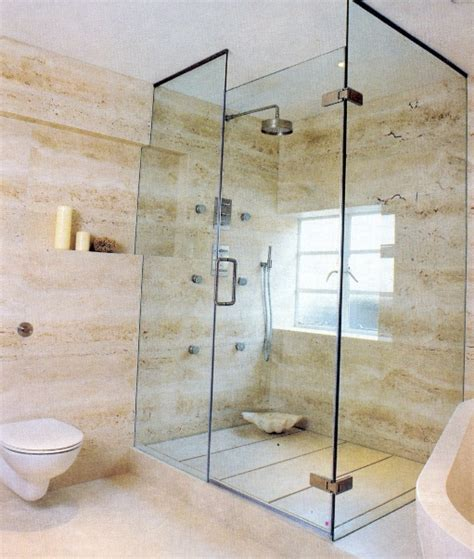 Beautiful Marble Stones Bathroom Home Interiors Bathroom Shower Images