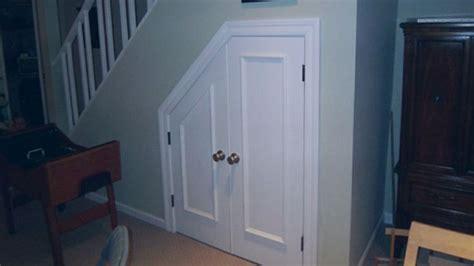 under stair closet door starter house pinterest