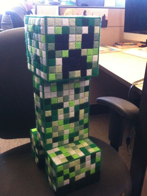 minecraft creeper bank   andy  pattern