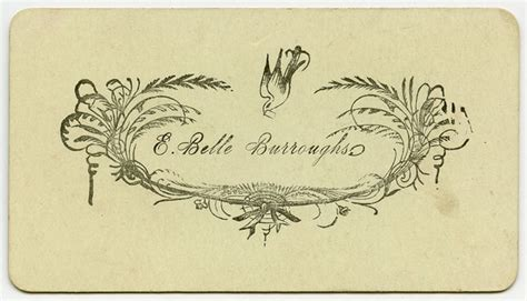 19th century calling card templates sentiment cards american antiquarian society