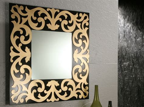 wall decorative mirrors 45 decorative wall mirrors by riflessi digsdigs