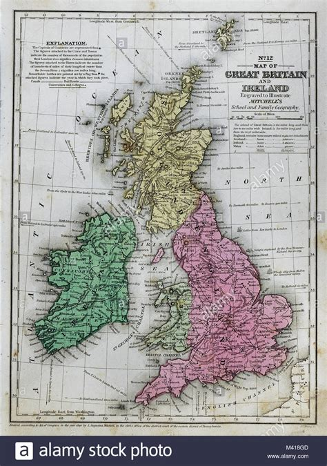 great britain ireland 9782067220898 map of britain and ireland stock photos map of britain and ireland stock images alamy
