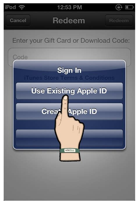 Ipod Touch Gift Card - how to redeem an itunes gift card on an ipod touch 5 steps autos post
