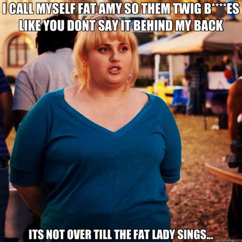 Fat Amy Memes - i call myself fat amy so them twig b es like you dont