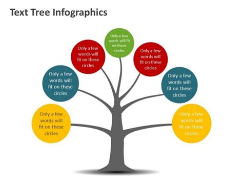 tree diagram template powerpoint tree tree diagram infographic editable powerpoint template