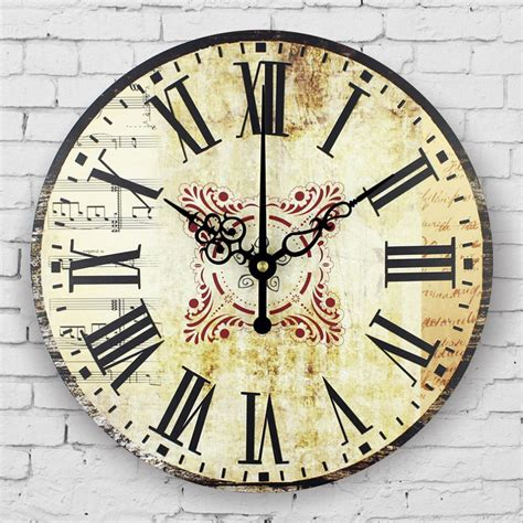 home decor clock large bedroom decor wall clocks absolutely silent vintage