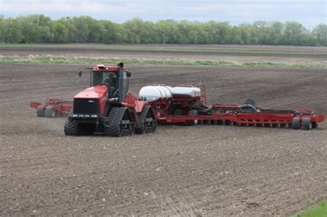 planting report wheat and sugar beets are in corn is