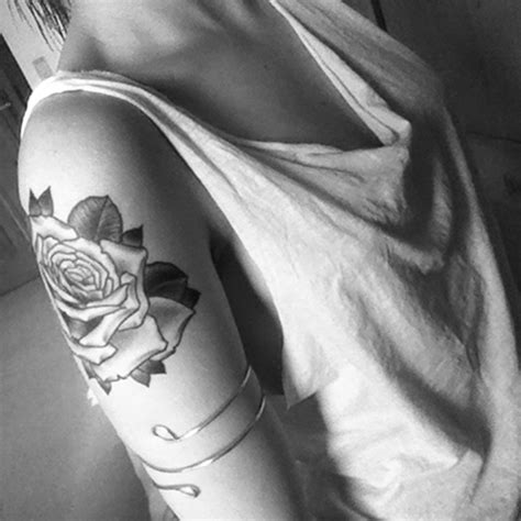 pictures of black and white rose tattoos 101 designs you will to