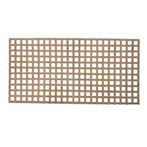 wood lattice home depot 3 4 in x 4 ft x 8 ft square pressure treated wood