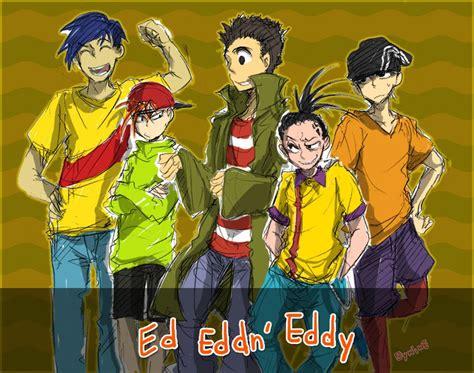 N Anime by Ed Edd And Eddy Anime Ed Edd N Eddy By Ninevsnine On