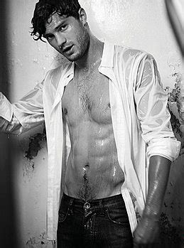 Man Candy Monday: Men in White (Gabriel Emerson and