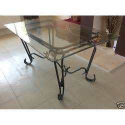 Wrought Iron Dining Tables Dining Table Wrought Iron Glass Dining Tables