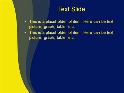 powerpoint templates free download yellow download free yellow blue mix powerpoint template for