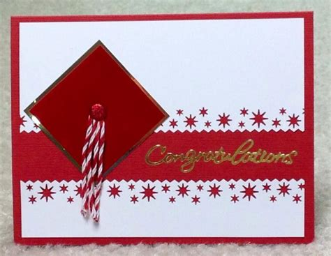 Handmade Congratulations Card Ideas - simple grad card seen on by cards4joy