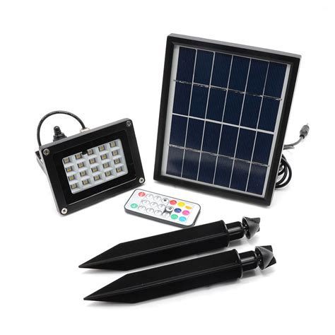 cheap solar spot lights solar powered flood lights with remote solar lights