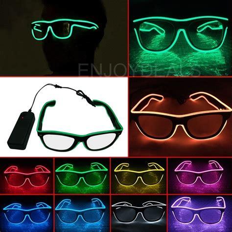 Kacamata Dj Glow Led Murah kacamata unik led jadikan pesta konser lebih seru