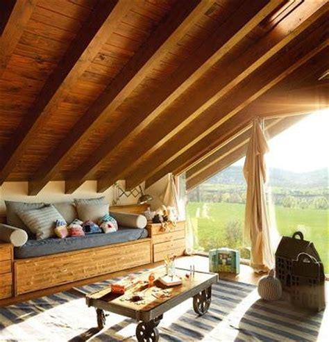 los interiores de techos de tejas rusticos paperblog