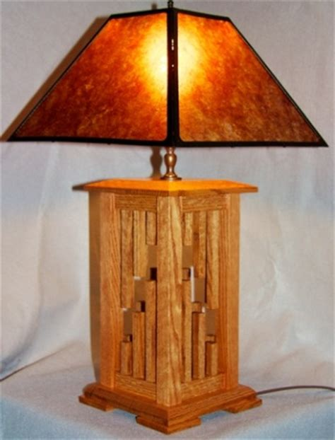 Southwestern Designs by Custom Mica Lamp Shade For Wood Lamp