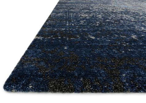 gray and navy rug viera vr 07 grey navy area rug from the modern rug masters collection at modern area rugs