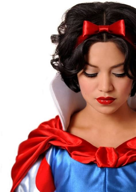Snow White Hairstyle by Real Disney Princess Hairstyle Qoutes