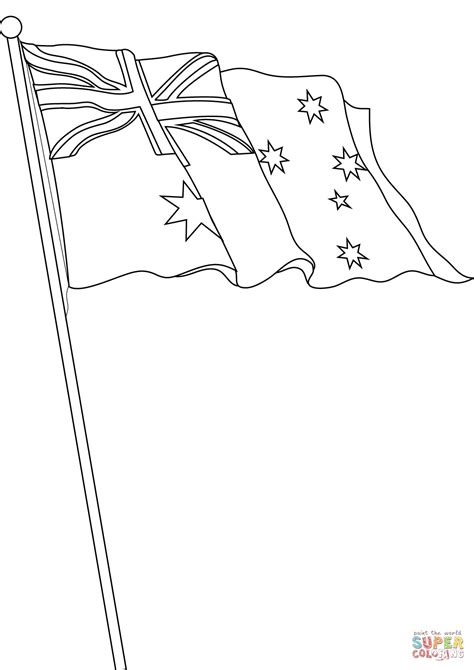 finest click the flag of australia coloring pages with