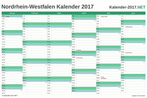 Nrw Kalender 2017 Kalender 2017 Nordrhein Westfalen