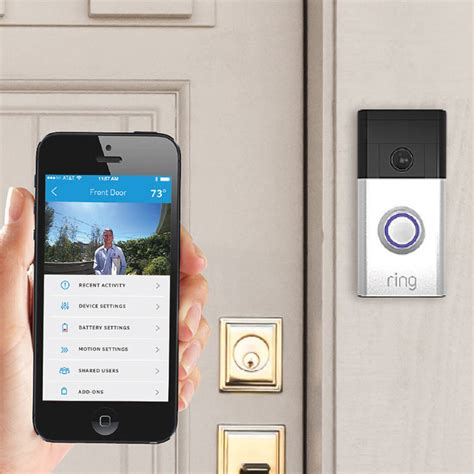 front doorbell diode ring smart doorbell the green