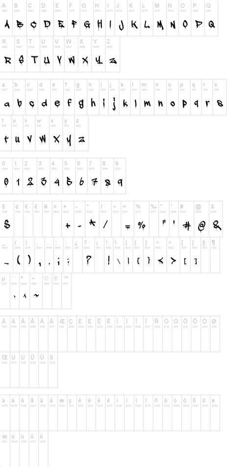 Dafont Dripping Font | a dripping marker font dafont com
