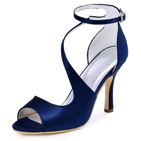 Navy Blue Bridal Heels by Get Cheap Navy Blue Wedding Shoes Aliexpress