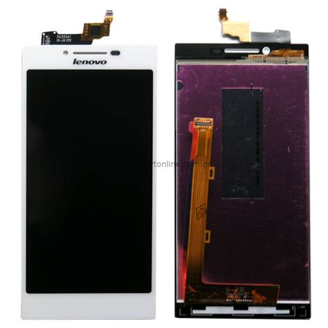 Touchscreen Lenovo A690 Black Ic lcd display with touch screen lenovo p70 white lenovo