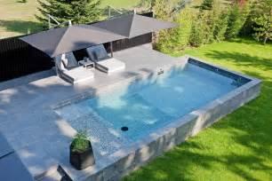 lovely Construire Piscine Hors Sol #6: piscine-en-kit-semi-enterrée-beton.jpg