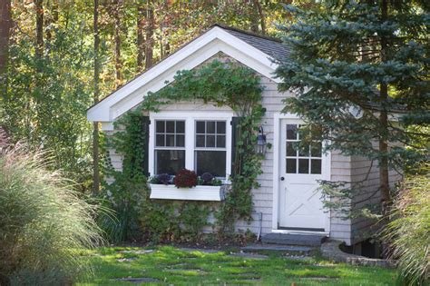 Houzz Garden Sheds by Garden Shed Traditional Garage And Shed New York By Fairfield House Garden Co
