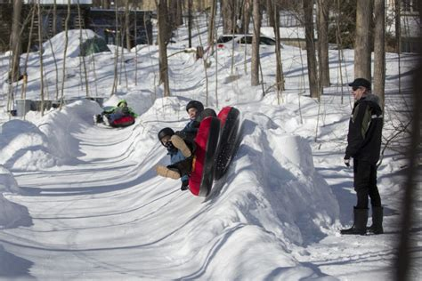 Backyard Luge by Barrie Builds 150 Metre Luge Track In His Backyard